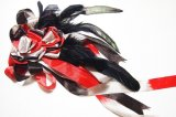 尾長鳥のコサージュ