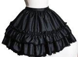 銀糸の檻スカート