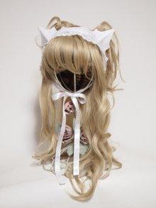 その他の写真1: 白猫ヘッドドレス