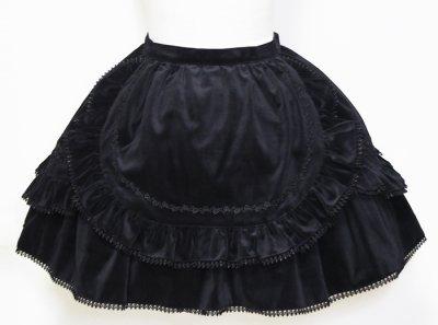画像1: 黒蝶スカート