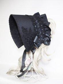 その他の写真2: 黒小鷺ヘッドドレス